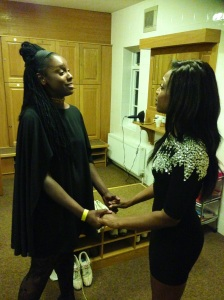 BEVERLEY KNIGHT Giving BASHIYRA Advice