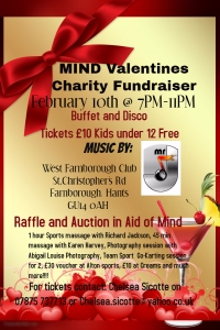 MIND Valentines Charity Fundraiser